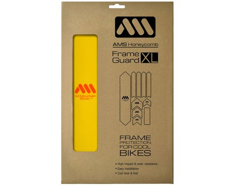 All Mountain Style Honeycomb Frame Guard XL (Yellow/Orange)