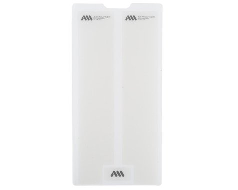 All Mountain Style Honeycomb Fork Guard (Clear/Silver)