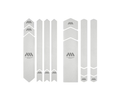All Mountain Style Honeycomb Full Frame Guard (Clear/Silver)