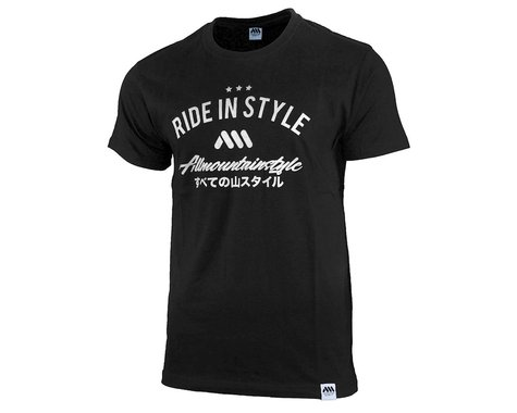 All Mountain Style Nippon Tee (Black) (M)
