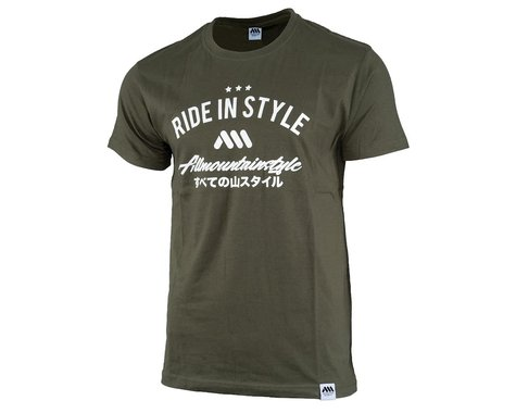 All Mountain Style Nippon Tee (Green) (M)
