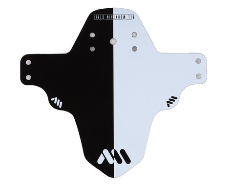 All Mountain Style Mud Guard (Black/White)