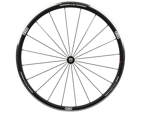 Alto Wheels A26 Front Aluminum Road Wheel (White)