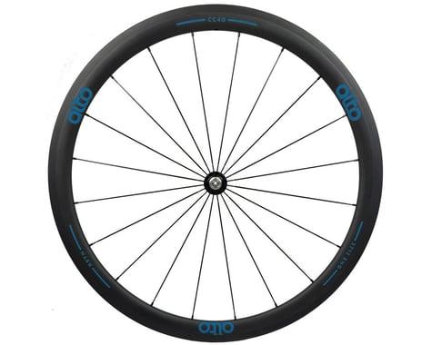 Alto Wheels CC40 Carbon Front Clincher Road Wheel (Blue)