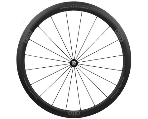 Alto Wheels CC40 Carbon Front Clincher Road Wheel (Grey)