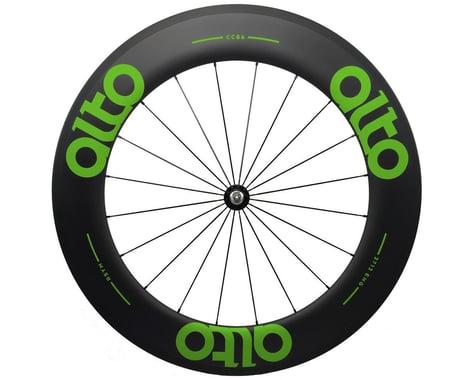 Alto Wheels CC86 Carbon Front Clincher Road Wheel (Green)
