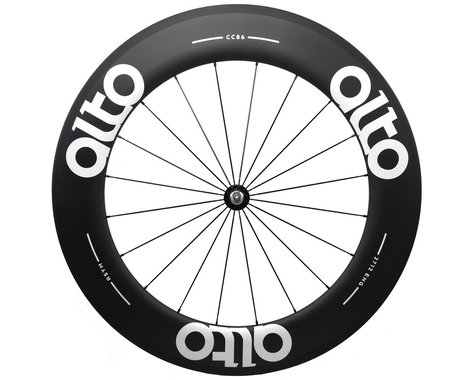 Alto Wheels CC86 Carbon Front Clincher Road Wheel (White)