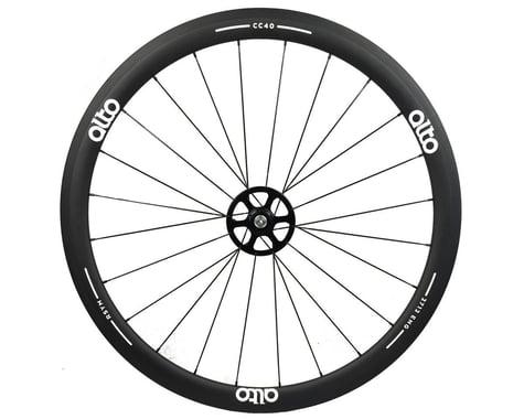Alto Wheels CC40 Carbon Rear Clincher Road Wheel (White)