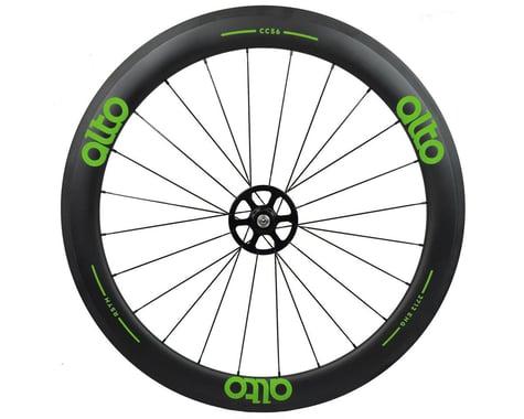 Alto Wheels CC56 Carbon Rear Clincher Road Wheel (Green)