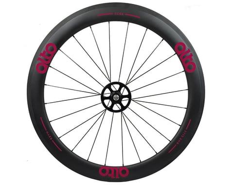 Alto Wheels CC56 Carbon Rear Clincher Road Wheel (Pink)