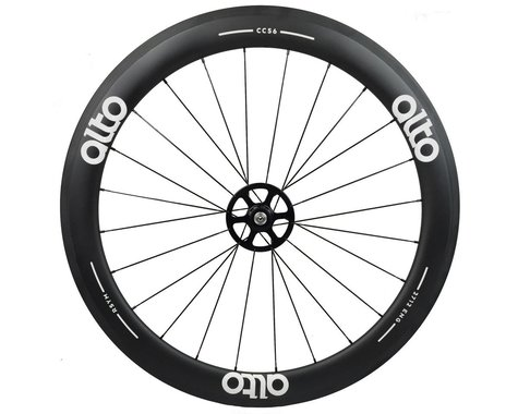 Alto Wheels CC56 Carbon Rear Clincher Road Wheel (White)