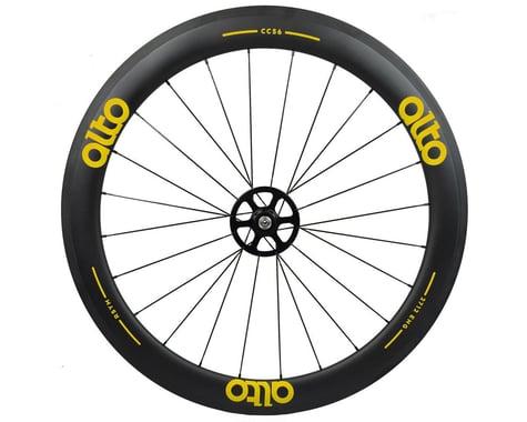Alto Wheels CC56 Carbon Rear Clincher Road Wheel (Yellow)