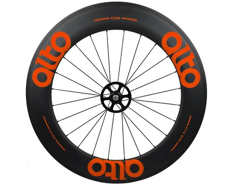 Alto Wheels CC86 Carbon Rear Clincher Road Wheel (Orange)