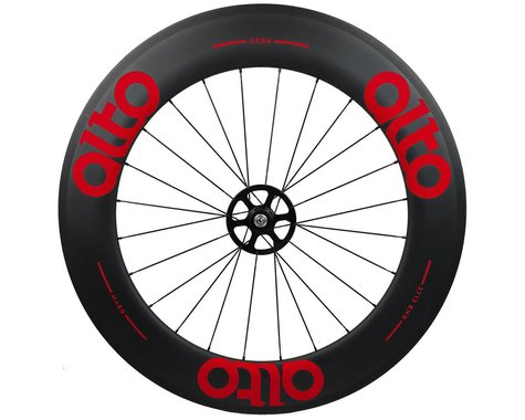 Alto Wheels CC86 Carbon Rear Clincher Road Wheel (Red)
