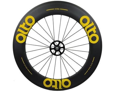Alto Wheels CC86 Carbon Rear Clincher Road Wheel (Yellow)