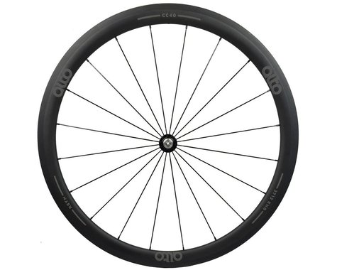 Alto Wheels CT40 Carbon Front Road Tubular Wheel (Grey)
