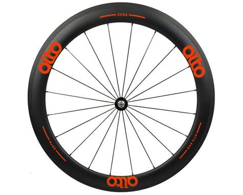 Alto Wheels CT56 Carbon Front Road Tubular Wheel (Orange)