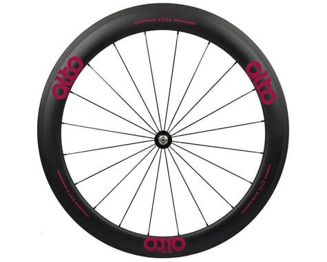 Alto Wheels CT56 Carbon Front Road Tubular Wheel (Pink)