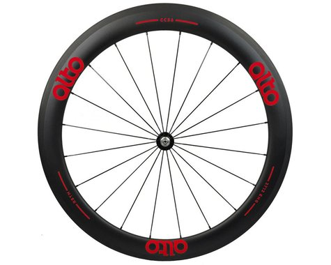 Alto Wheels CT56 Carbon Front Road Tubular Wheel (Red)