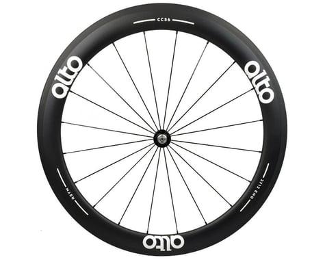 Alto Wheels CT56 Carbon Front Road Tubular Wheel (White)