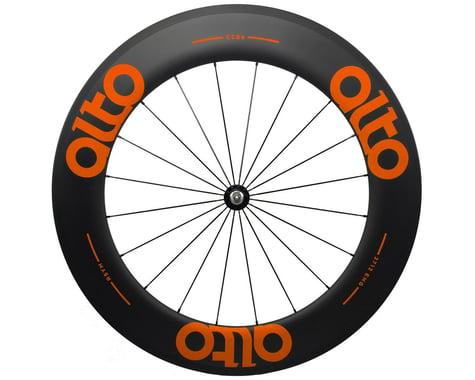 Alto Wheels CT86 Carbon Front Road Tubular Wheel (Orange)