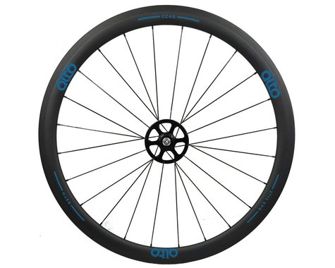 Alto Wheels CT40 Carbon Rear Road Tubular Wheel (Blue)