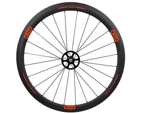 Alto Wheels CT40 Carbon Rear Road Tubular Wheel (Orange)