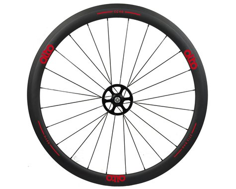 Alto Wheels CT40 Carbon Rear Road Tubular Wheel (Red)