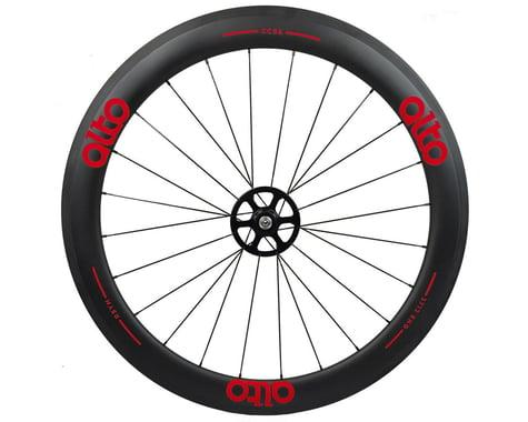 Alto Wheels CT56 Carbon Rear Road Tubular Wheel (Red)