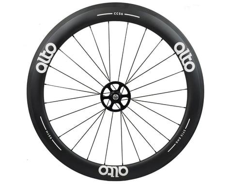 Alto Wheels CT56 Carbon Rear Road Tubular Wheel (White)