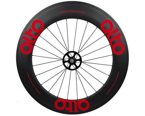 Alto Wheels CT86 Carbon Rear Road Tubular Wheel (Red)