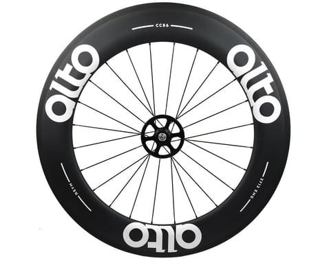 Alto Wheels CT86 Carbon Rear Road Tubular Wheel (White)