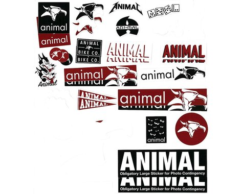 Animal Assorted Sticker Pack (38)