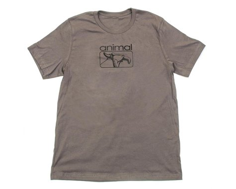 Animal Red Eye T-Shirt (Grey) (L)