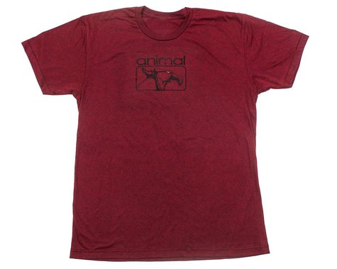 Animal Red Eye T-Shirt (Heather Red) (L)
