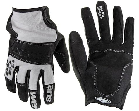 Answer Enduro Full Finger Glove (White/Black)