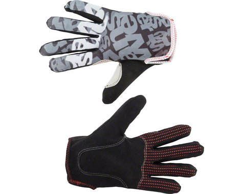 Answer Clash Full Finger Glove: Black/Gray XL