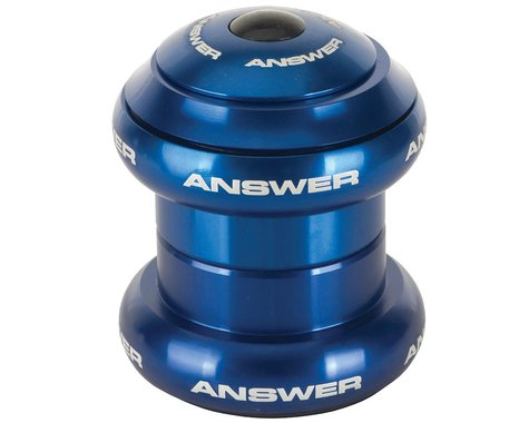 "Answer BMX Standard Headset (Blue) (1"")"