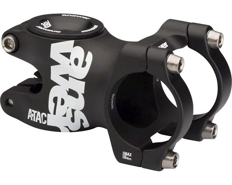 Answer ATAC AME 31.8 Stem 60mm +/- 0 Degree, Black