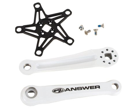 Answer Mini Crank Arms (White) (105mm)