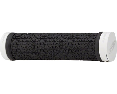 Answer BMX Flangeless Grips (White)