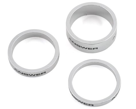 "Answer Alloy Spacer (Polished) (3 Pack) (1"")"
