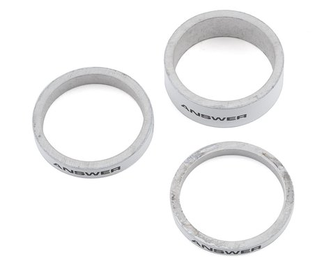 "Answer Alloy Spacer (White) (3 Pack) (1-1/8"")"