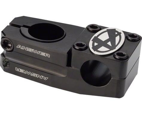 """Answer Dual Length Stem (Black) (1"""" Steerer) (45-50mm)"""