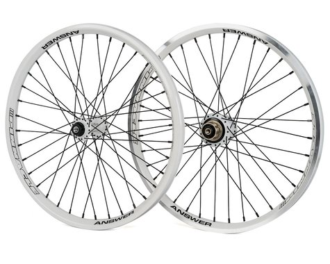 "Answer Pinnacle Pro Wheelset (20"") (White)"