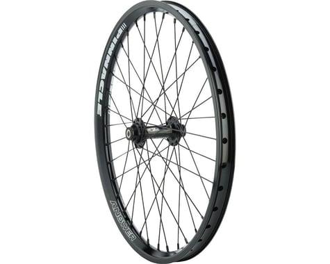 "Answer BMX Pinnacle Wheelset - (20"") (Black)"