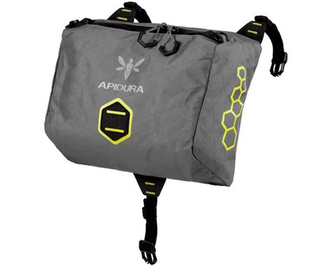 Apidura Handlebar Pack, accessory pocket (dry) - grey/black