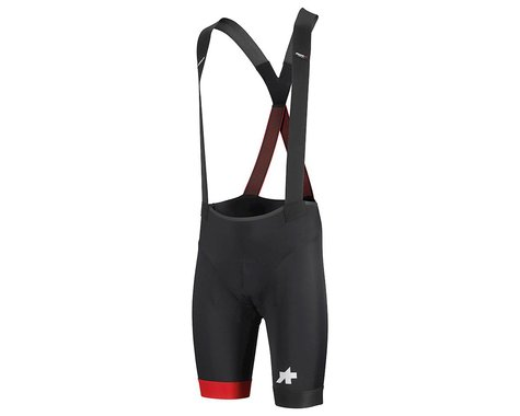 Assos Men's Equipe RS Bib Shorts S9 (National Red) (XLG)
