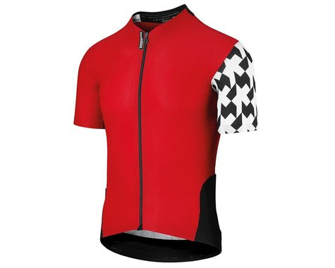 Assos Men's Equipe Evol8 Short Sleeve Jersey (National Red)