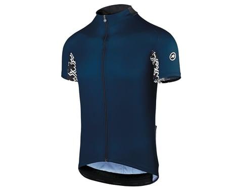 Assos Men's Mille GT Short Sleeve Jersey (Caleum Blue) (S)